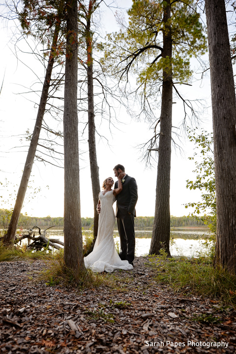 BlueBridge | BlueBridge Event Center | Michigan Event Center | Michigan Wedding Venue | Ellis Lake | Summer Wedding | Bride + Groom