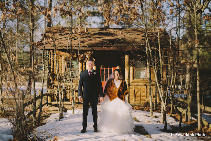 BlueBridge | BlueBridge Event Center | Michigan Event Center | Michigan Wedding | Winter Wedding | Bride + Groom