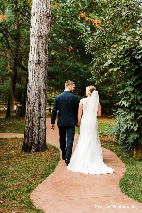 BlueBridge   Blue Chapel/Centre   Summer Wedding   Fall Wedding   Northern Michigan Wedding Venue   Bride & Groom